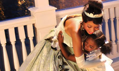 Princess Tiana and Prince Naveen Character Greetings