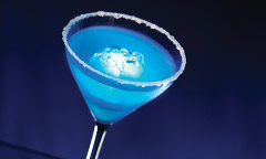 Blue Glow-Tini