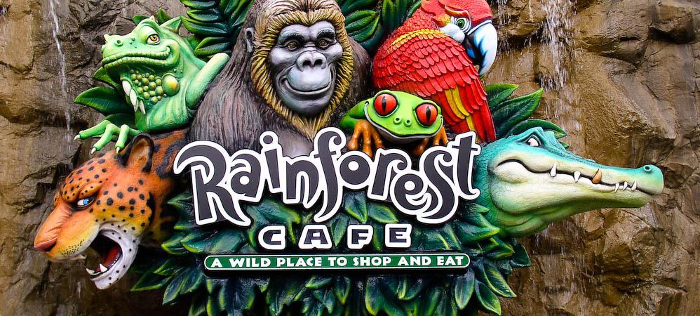 Rainforest Cafe Riverwalk Parking